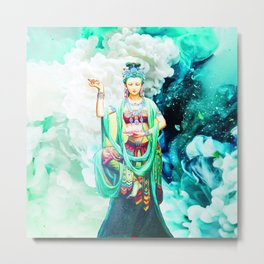 The Goddess of Mercy Metal Print