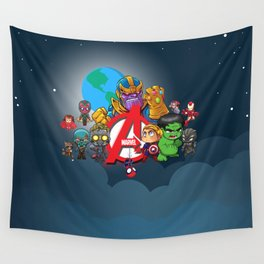 A Group of Remarkable People Wall Tapestry