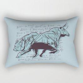 Stock Market Analysis Finance Rectangular Pillow