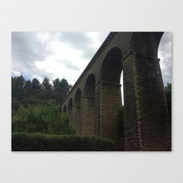 Aqueduct in Provence Canvas Print