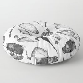 hp artifacts pattern Floor Pillow