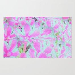 Peppermint Twist Garden Phlox Petals Rug