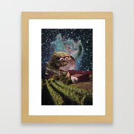 Grouch Framed Art Print