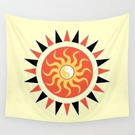 Yin yang sunshine Wall Tapestry