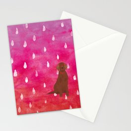 Irish Setter Watercolour Stationery Cards