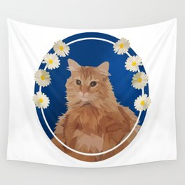 Macho, the Handsome Ginger Wall Tapestry