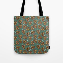 Crunchy nuts pattern Tote Bag