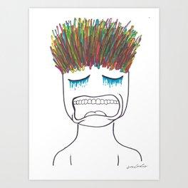 Philosophy of the Mind Art Print