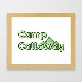 Camp Calloway Framed Art Print