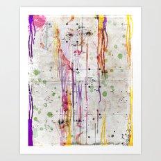 Looking Art Print