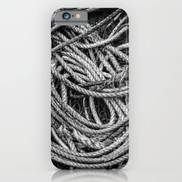 Coiled Rope iPhone Case