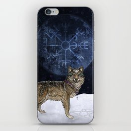 Wolf Moon iPhone Skin