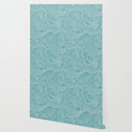 Turquoise marble Wallpaper