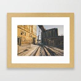 Access to Silo 5 Framed Art Print