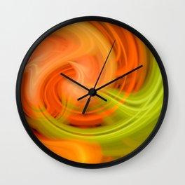 Trippy Twirl 4 Wall Clock