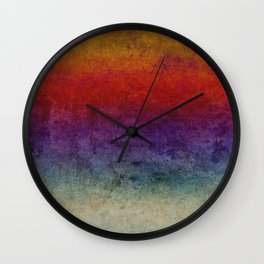 The dark cloths of night and light and the half-light Wall Clock