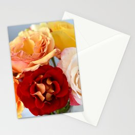 PRETTY SUMMER ROSES FROM MY GARDEN Stationery Cards