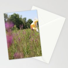 we move lightly Stationery Cards