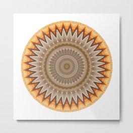 Mandala #9 Metal Print