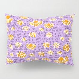 Daisy Lavender Pillow Sham