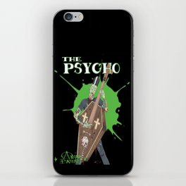 The Psycho iPhone Skin