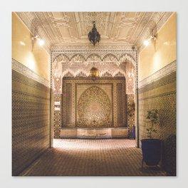Marrakech Artisan Palace Canvas Print