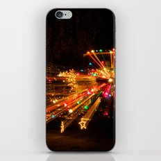 Candy Cane Lane Chevy Truck iPhone & iPod Skin