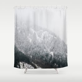 Swiss Alps - v2 Shower Curtain