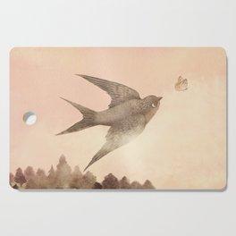 Sunset Swallow Cutting Board