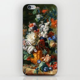 "Jan van Huysum ""Bouquet of Flowers in an Urn"" iPhone Skin"