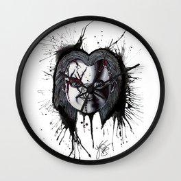 The Horror of Chucky  Wall Clock