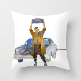 Say Anything - Lloyd Dobler (John Cusack) Throw Pillow