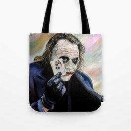 the Joker hahaha Tote Bag