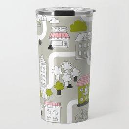 City map Travel Mug
