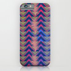 Chevron and  Geometric with pink iPhone 6s Slim Case