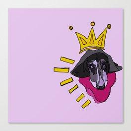 Basquiat Hound Canvas Print