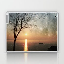 The old man and the sea Laptop & iPad Skin
