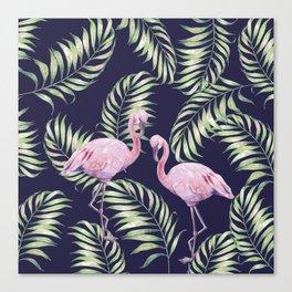 Flamingos #society6 Canvas Print