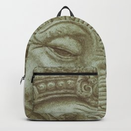 Ganesh green Backpack