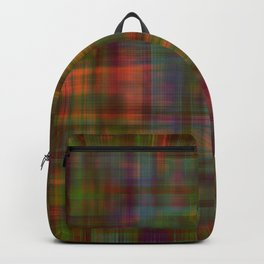 Multicolored Abstract Modern Pattern Backpack