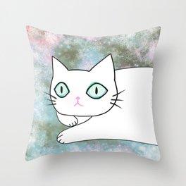 cat 614 Throw Pillow