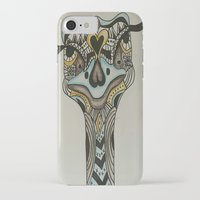 ostrich iPhone & iPod Cases featuring ostrich by loomy