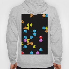 Pacman background Hoody