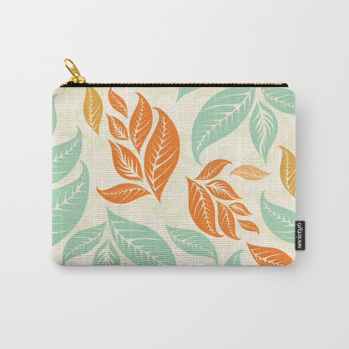 Leaf and autumn Carry-All Pouch