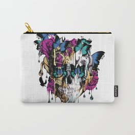 Flomo Butterfly Skull Carry-All Pouch