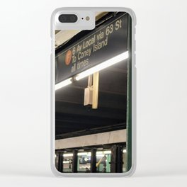 71 Forest Hills Clear iPhone Case