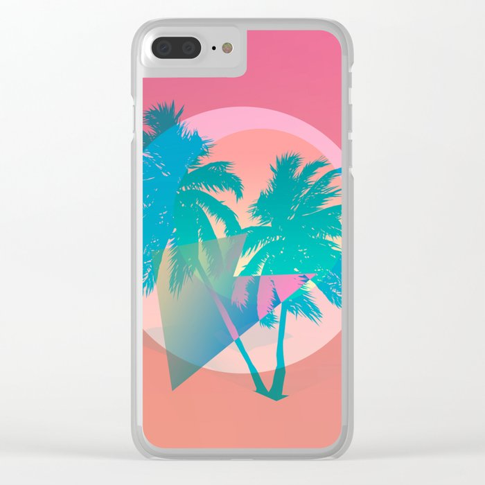 MIAMI Clear iPhone Case