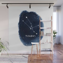 Taurus Constellation Horoscope Wall Mural
