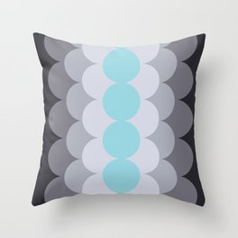 Gradual Island Paradise Throw Pillow