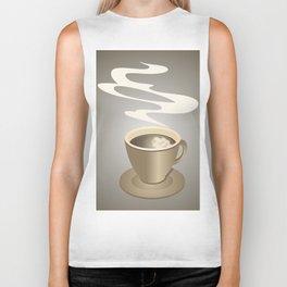 Coffee cup Biker Tank